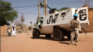 Misión de Naciones Unidas en Mali.