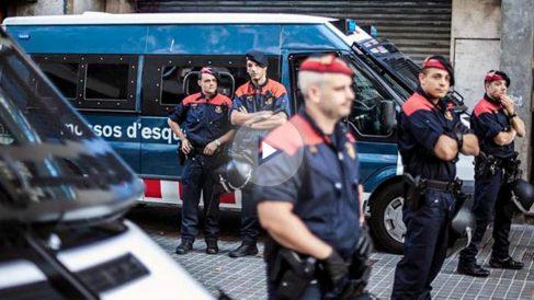 Mossos d'Esquadra en una reciente imagen (Foto: Efe).