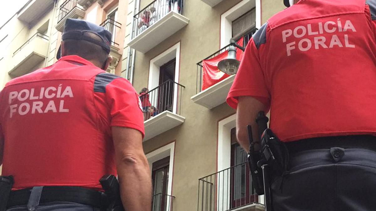 Policía Foral de Navarra.