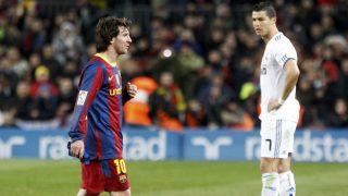 Cristiano Ronaldo y Lionel Messi son los reyes del partido.