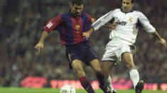 Luis Figo es uno de los jugadores más odiados por la afición azulgrana.