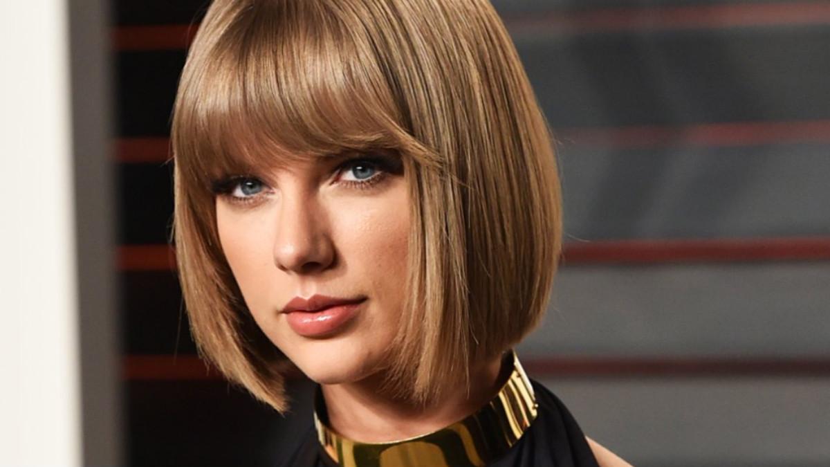La cantante Taylor Swift.