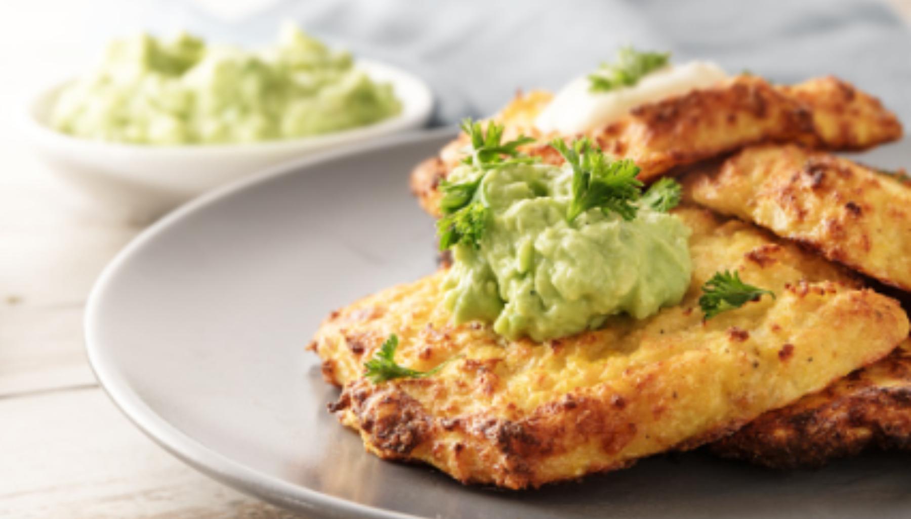 Tortitas de coliflor: receta saludable y fácil
