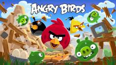 La aplicación Angry Birds