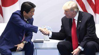 Shinzo Abe y Donald Trump. (Foto: AFP)