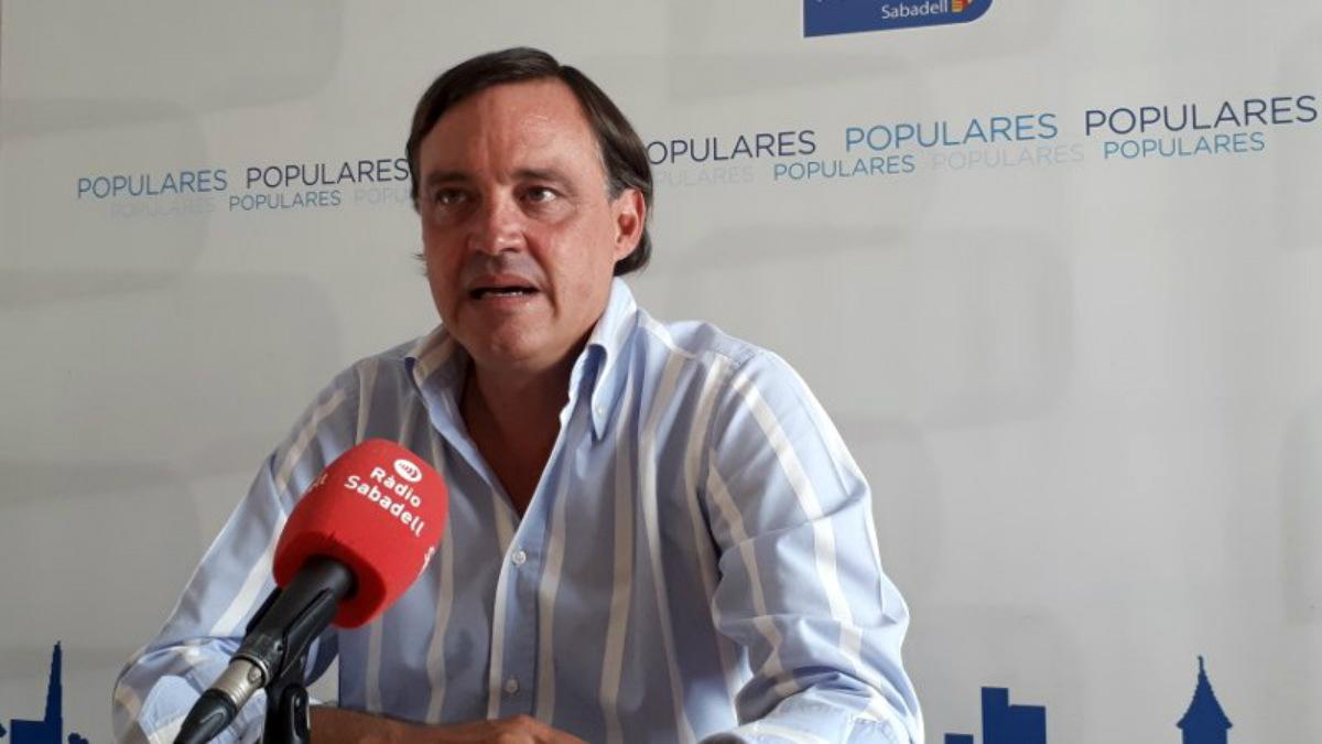 Esteban Gesa, portavoz del grupo del PP en Sabadell.