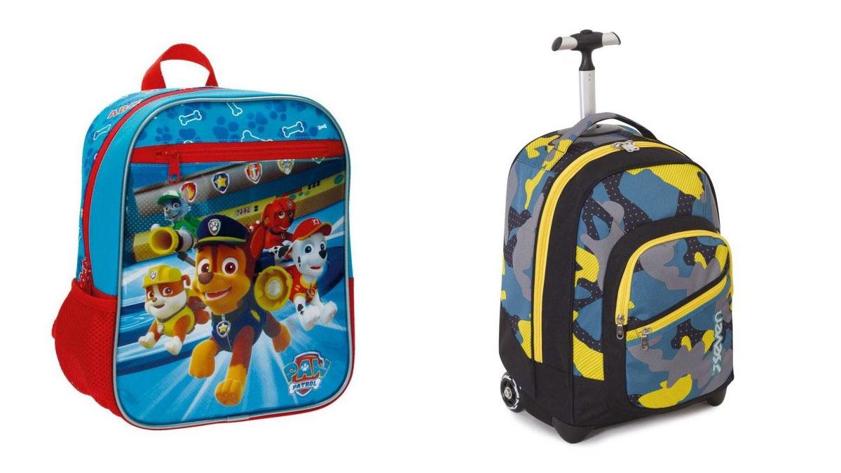 ¿Quieres que tus hijos vuelvan al colegio con una sonrisa dibujada en la cara? ¡Cómprales una de estas mochilas tan divertidas!