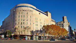 El Corte Inglés felicita la Navidad en catalán.