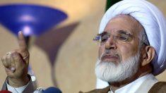 El clérigo opositor iraní Mehdi Karrubi, bajo arresto domiciliario.