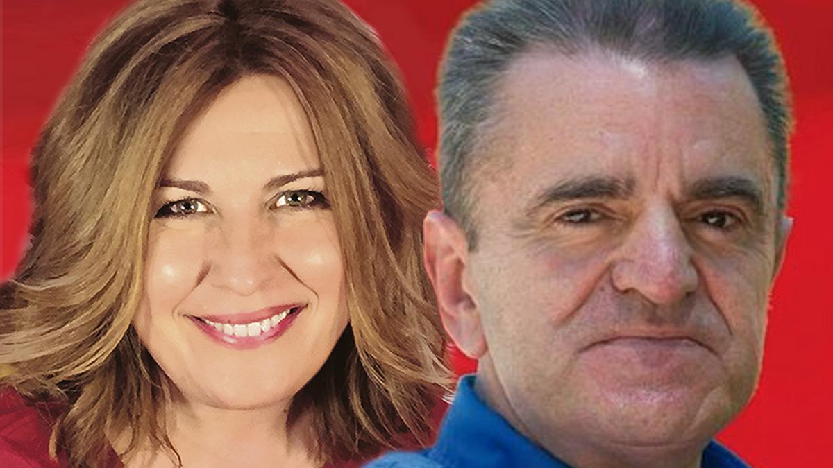 Natalia de Andrés y José Manuel Franco