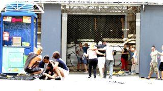 Heridos son atendidos en el lugar del atropello (Foto: Efe).