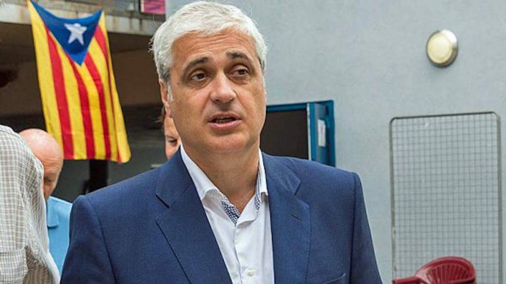 Germà Gordó, ex consejero de Justicia de Cataluña, imputado por el 'caso 3%'.