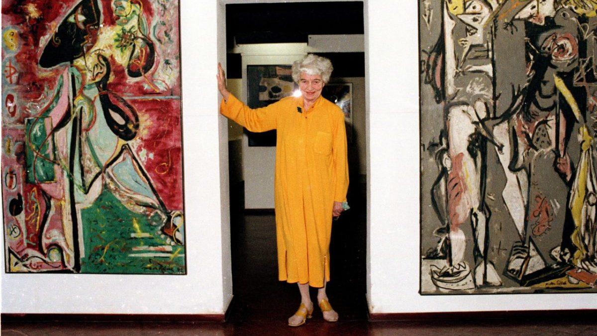 Peggy Guggenheim en su palacio de Venecia. Foto: Fundación PG
