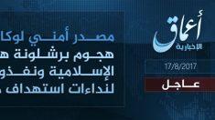 El ISIS ha reivindicado el atentado de Barcelona.