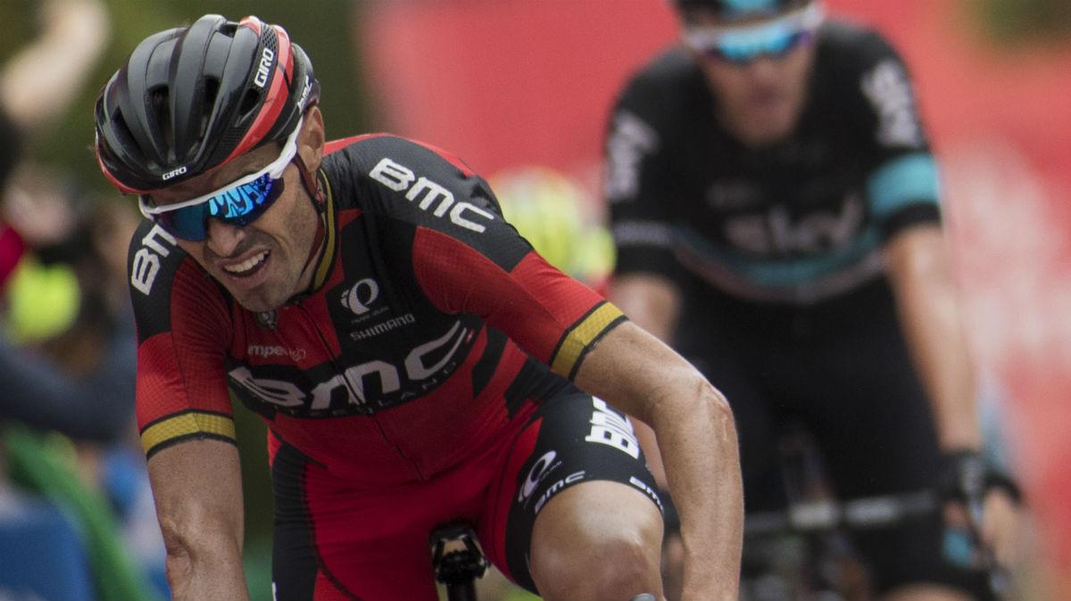 Samuel Sánchez en La Vuelta 2016. (AFP)