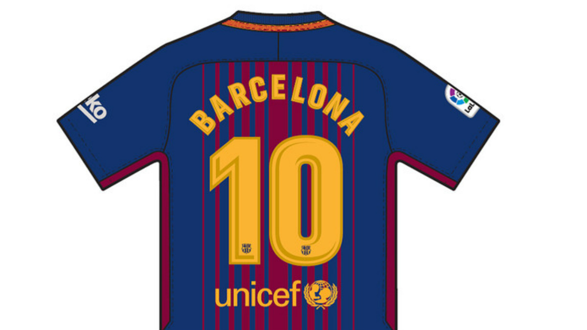 Esta es la camiseta que lucirá el Barça ante el Betis en memoria de las víctimas del atentado de Barcelona. (fcbarcelona.cat)