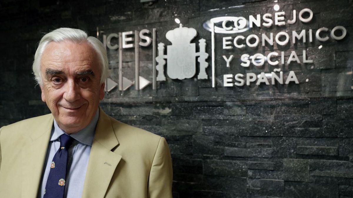 El presidente del CES, Marcos Peña.