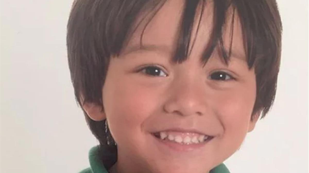 Julian Cadman, el pequeño de 7 años que se dio por desaparecido tras el atentado en Barcelona.