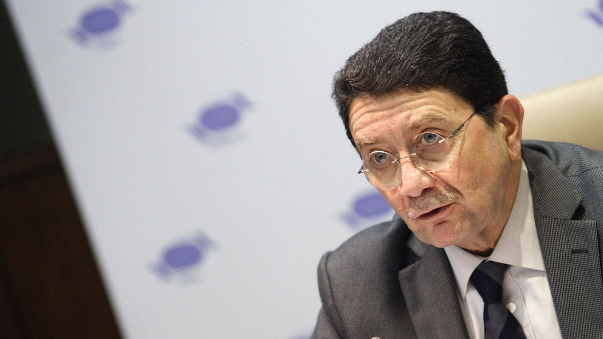 El secretario general de la Organización Mundial del Turismo (OMT), Taleb Rifai. (Foto: EFE)