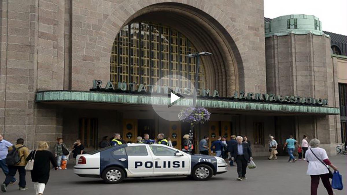 Ataque en Turku (Imagen: AFP)