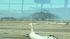 Incendio en El Prat