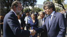 Mariano Rajoy y Carles Puigdemont (Foto : EFE)