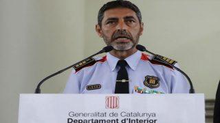 Josep Lluís Trapero, mayor de los Mossos Imagen: EFE)