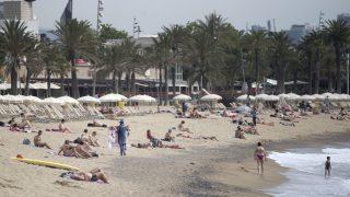 Playa de Barcelona. (Foto: EFE)