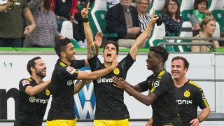 Bartra celebra su gol al Wolfsburgo. (Getty)