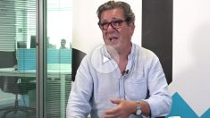 Manuel Vázquez Jaén, durante la entrevista.