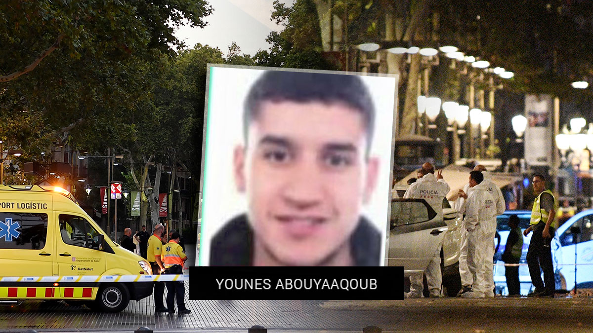 El terrorista Younes Aboyaaqoub.