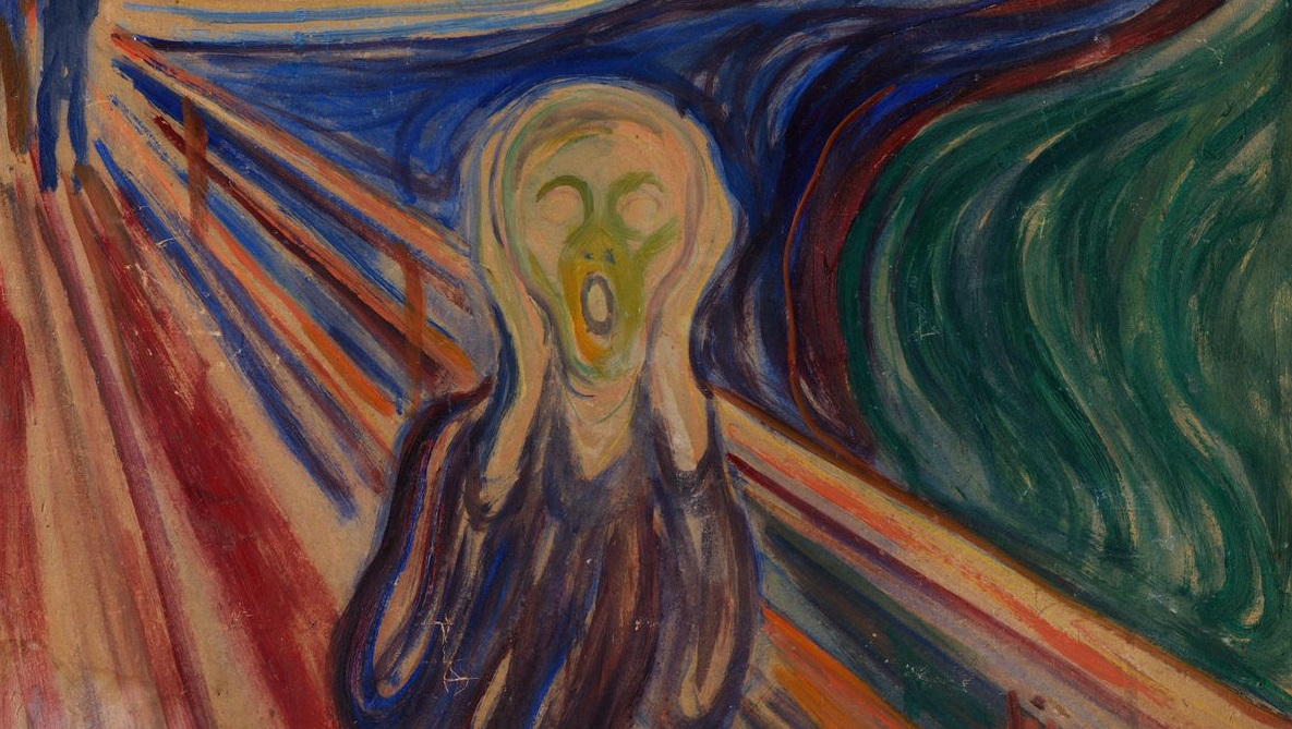 'El grito', obra más representativa del artista expresionista Edvard Munch.