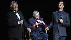 Jerry Lewis, en el centro (Foto: Getty)
