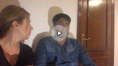 Entrevista a Noorullah, el héroe de Las Ramblas. (Foto y vídeo: Nuria Val)
