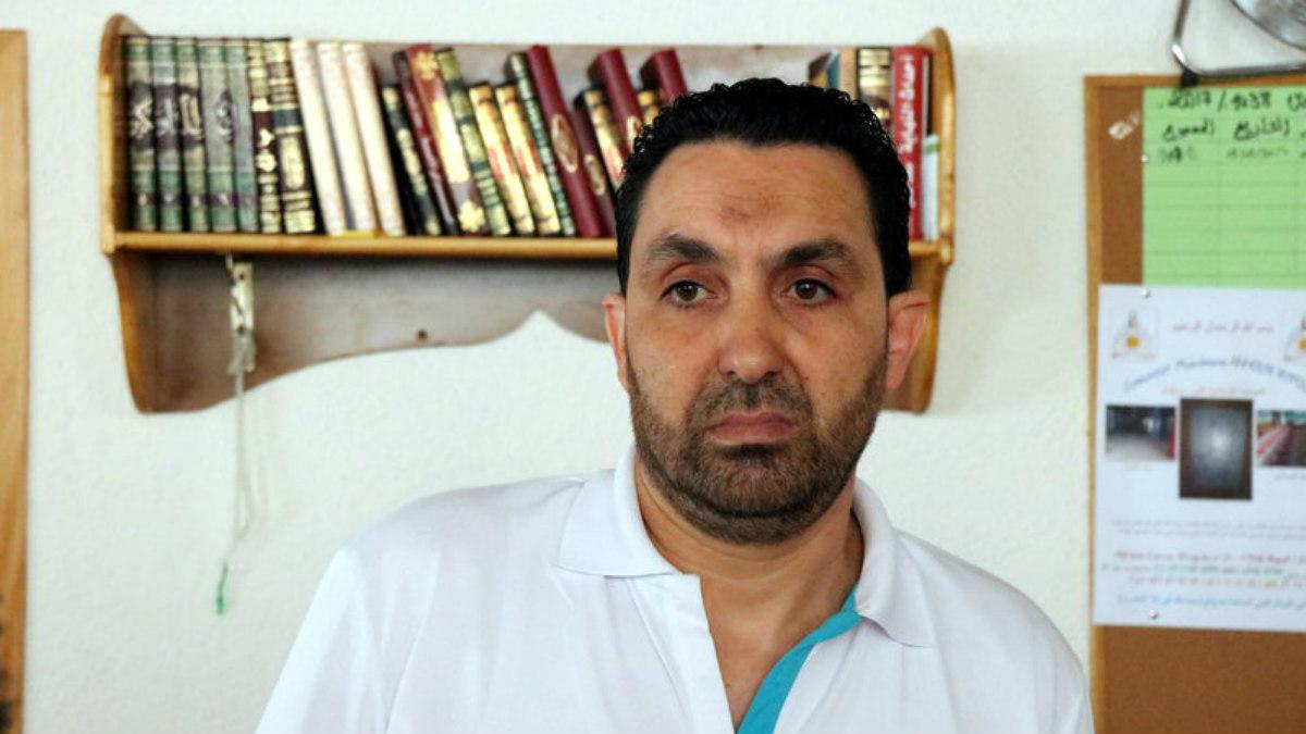 Ali Yassine, presidente de la comunidad islámica de Ripoll. (Foto: ACN)