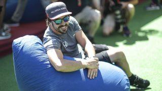 El futuro de Fernando Alonso sigue dando mucho que hablar, habiendo incluso quien opina que debería quedarse en McLaren-Honda. (Getty)