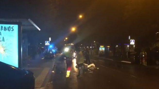 Un anciano en estado crítico tras ser atropellado por una motocicleta en Madrid