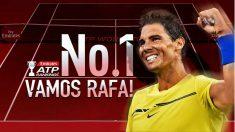 Rafa Nadal vuelve al número uno de la ATP. (ATP)