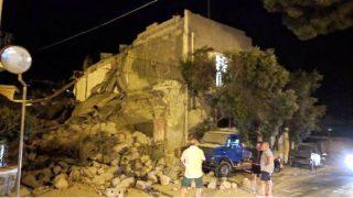 Varios edificios se han derrumbado en la isla de Ischia, frente a Nápoles, tras un terremoto.
