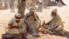 Los árabes se organizaban en tribus de creencias propias.
