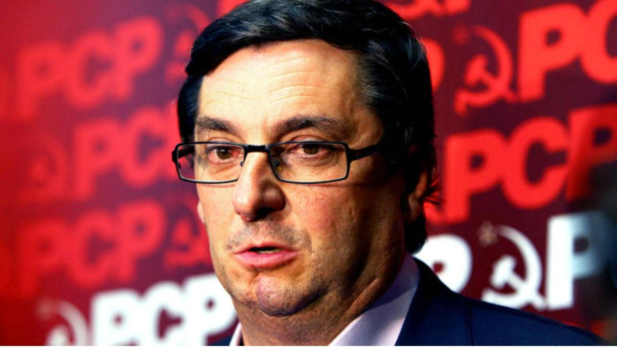 José Luis Centella, líder del PCE.