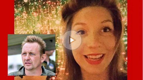La periodista sueca desaparecida Kim Wall, y el inventor del submarino y sospechoso Peter Madsen.