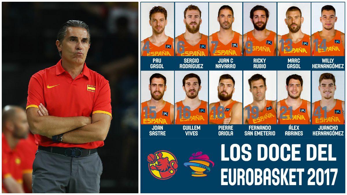Esta es la lista definitiva de Scariolo para el Eurobasket.