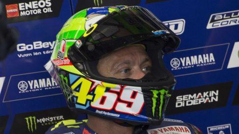 Valentino Rossi le ha hecho llegar a la familia Hayden el casco homenaje a Nicky que utilizó durante el pasado Gran Premio de Italia de MotoGP.