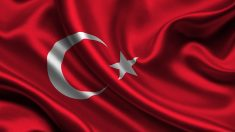Bandera turca.