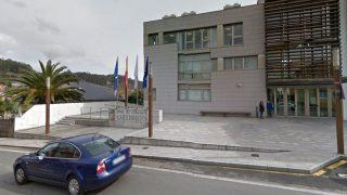 Sede del Ayuntamiento de Culleredo, donde fue localizado el hombre que asesinó a su ex suegra.
