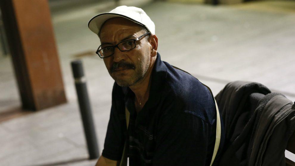 Brahim Aalla, padre de tres de los implicados en los atentados de Barcelona y Cambrils. (AFP)