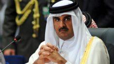 El emir de Qatar, Tamim bin Hamad Al Zani.