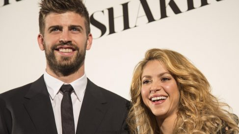 Shakira y Gerard Piqué, cantante y futbolista del FC Barcelona (Foto. Gett)