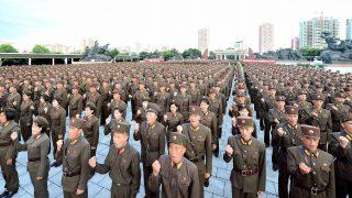 Ejército de Corea del Norte (foto. Getty)